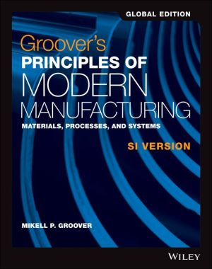 Groover's Principles of Modern Manufacturing SI Version, Global Edition - ABC Books