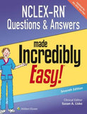 NCLEX-RN Questions & Answers Made Incredibly Easy, 7e - ABC Books