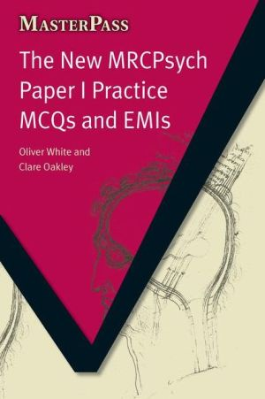 MasterPass: New MRCpsych Paper I Practice MCQs & EMIs - ABC Books