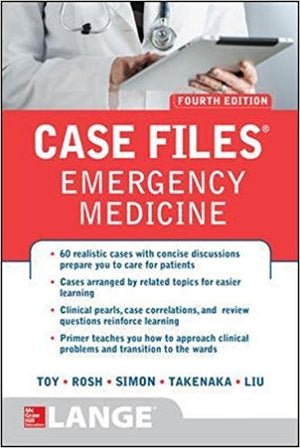 Case Files Emergency Medicine, 4e - ABC Books