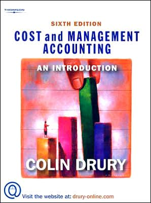 Cost and Management Accounting: An Introduction, 6e
