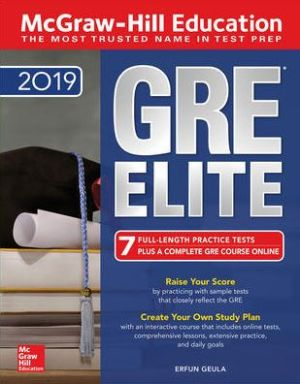 McGraw-Hill Education GRE ELITE 2019 5th Edition - ABC Books