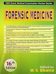 CBS Quick Medical Examination Review Series: Forensic Medicine - ABC Books