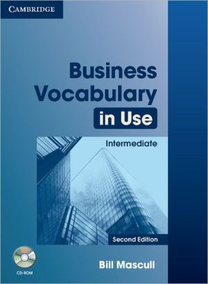 Business Vocabulary in Use Intermediate: Book with answers and CD-ROM, 2E - ABC Books