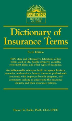 Dictionary of Insurance Terms - ABC Books