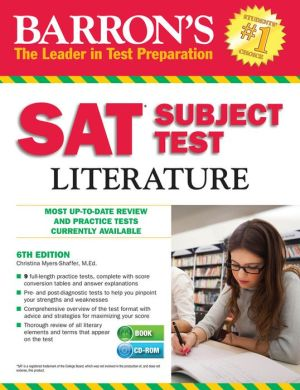 Barron's SAT Subject Test Literature [With CDROM], 6e - ABC Books
