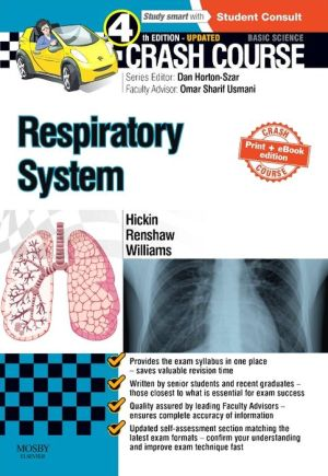 Crash Course Respiratory System, 4E - ABC Books