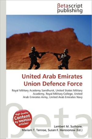 United Arab Emirates Union Defence Force - ABC Books