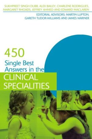 400 Single Best Answers in the Clinical Specialities - ABC Books