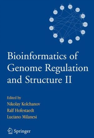 Bioinformatics of Genome Regulation and Structure: v. 2 - ABC Books