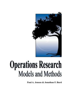 Operations Research Models and Methods (WSE)