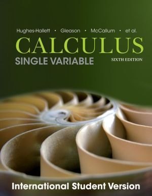 Calculus - Single Variable 6e International Student Version