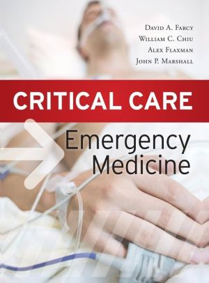 Critical Care Emergency Medicine** - ABC Books