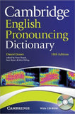 Cambridge English Pronouncing Dictionary: with CD-ROM, 18E