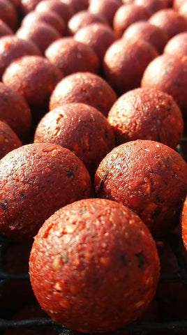 Boilies Semi Solubile Strawberry 1Kg