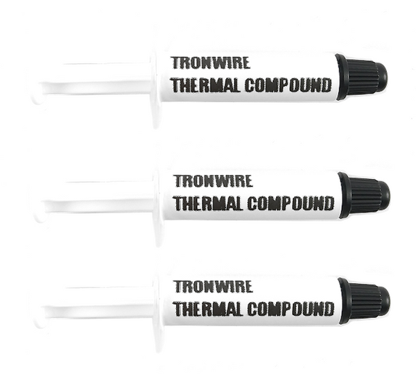 TRONWIRE TX-1 Thermal Paste Grease Compound For CPU Heatsink With Easy To Apply Syringe - 3-Pack 0.5 Grams - $1