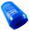 3-Pack Beer Hide Can Beverage Bottle Silicone Cover Sleeve Suitable For 12FL OZ 355ml - Blue
