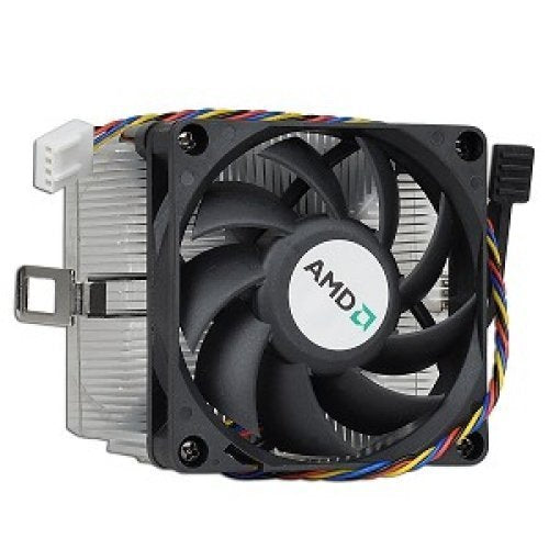 AMD Socket AM3 / AM2 / 1207 / 940 / 939 / 754 4-Pin Connector CPU Cooler With Aluminum Heatsink & 2.75-Inch Fan With Pre-Applied Thermal Paste For Desktop PC Computer