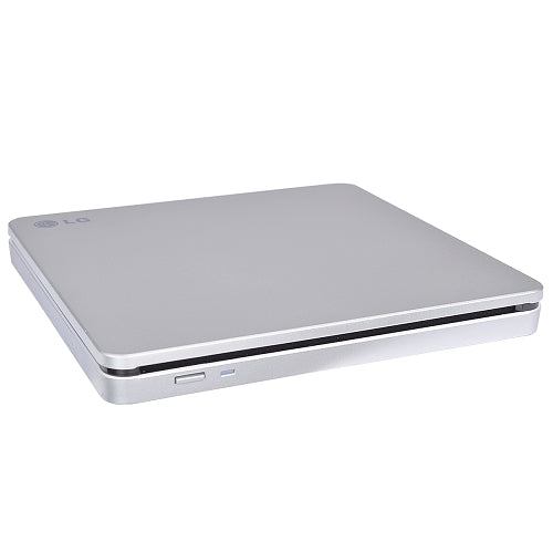 LG 8x DVD±RW DL Burner Writer Slim External USB 2.0 Slot-Loaded SuperMulti Optical Drive AP70NS50 - Manufacturer Refurbished