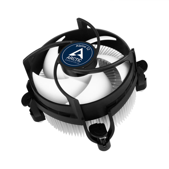 ARCTIC Intel Core i3 / i5 / i7 Socket 1156 / 1155 / 1151 / 1150 4-Pin Connector CPU Cooler With Aluminum Heatsink & 3.62-Inch Fan With Pre-Applied MX-2 Thermal Paste For Desktop PC Computer