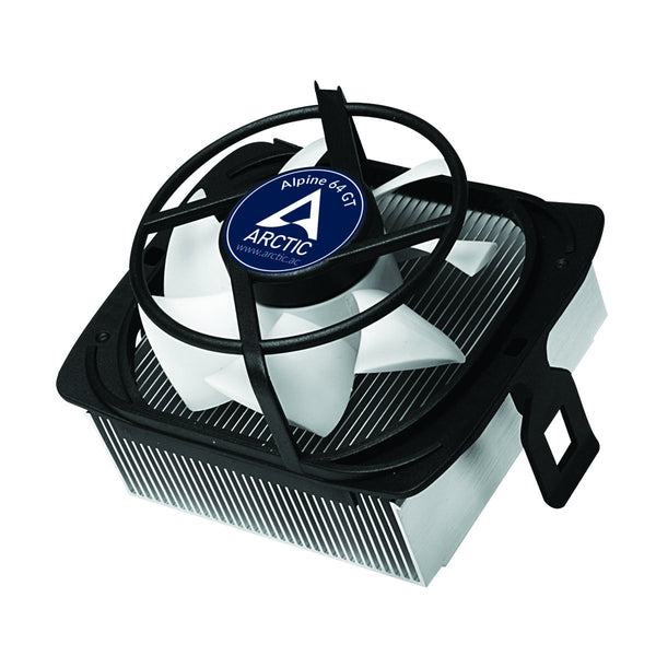 ARCTIC AMD Socket AM4 AM3 AM2 940 939 754 4-Pin Connector CPU Cooler With Aluminum Heatsink & 3.14-Inch Fan With Pre-Applied Thermal Paste For Desktop PC Computer