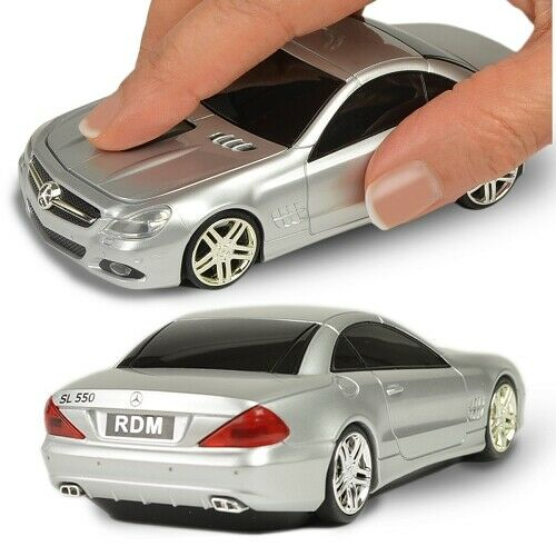 3-Button Road Mice Mercedes SL550 2.4GHz Wireless USB Optical Mouse
