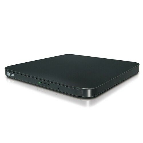 LG 8x DVD±RW DL Burner Writer External USB 2.0 Optical Drive SP80NB80 - Manufacturer Refurbished