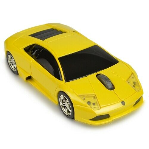 3-Button Road Mice Lamborghini Murcielago 2.4GHz Wireless USB Optical Mouse