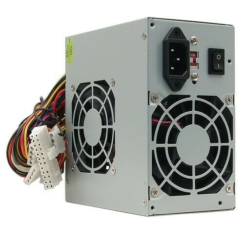 A-Power AGS 450 Watt 20+4-pin Dual-Fan ATX PSU Power Supply With SATA For Desktop PC Computer