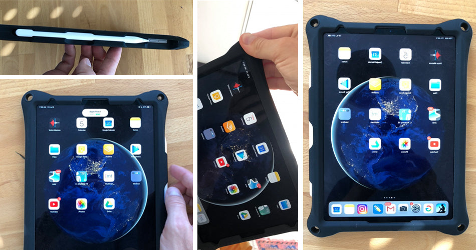 The making of a rugged tablet case