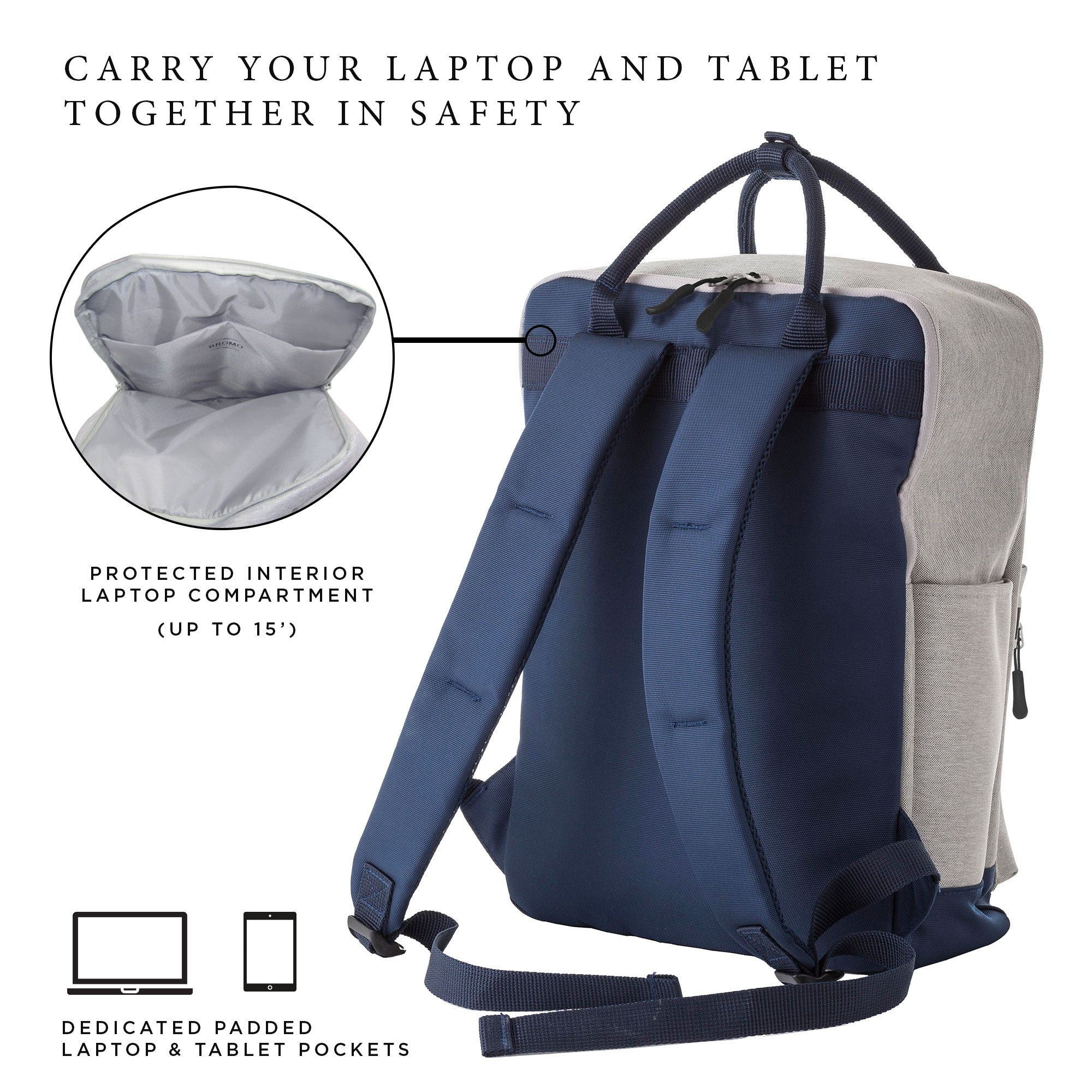 Swell Bromo Barcelona Colorado Laptop Backpack With Handles For 12 Download Free Architecture Designs Scobabritishbridgeorg