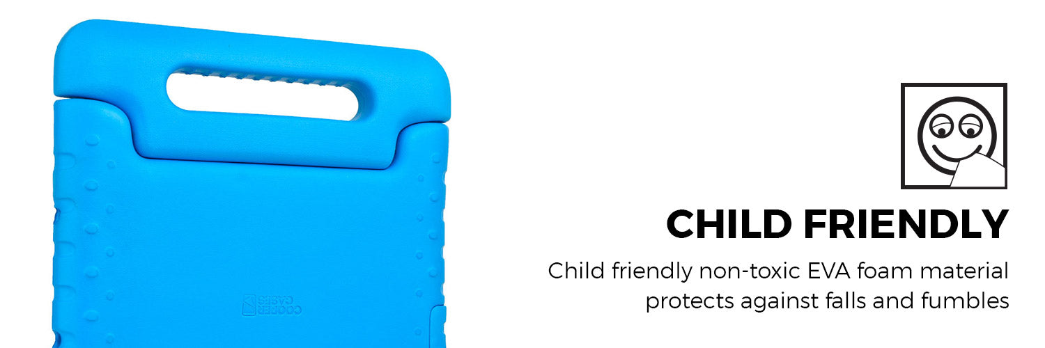 Cooper Dynamo EVA foam Rugged Kids Play Case with Handle for all Apple iPads and Samsung Galaxy Tabs