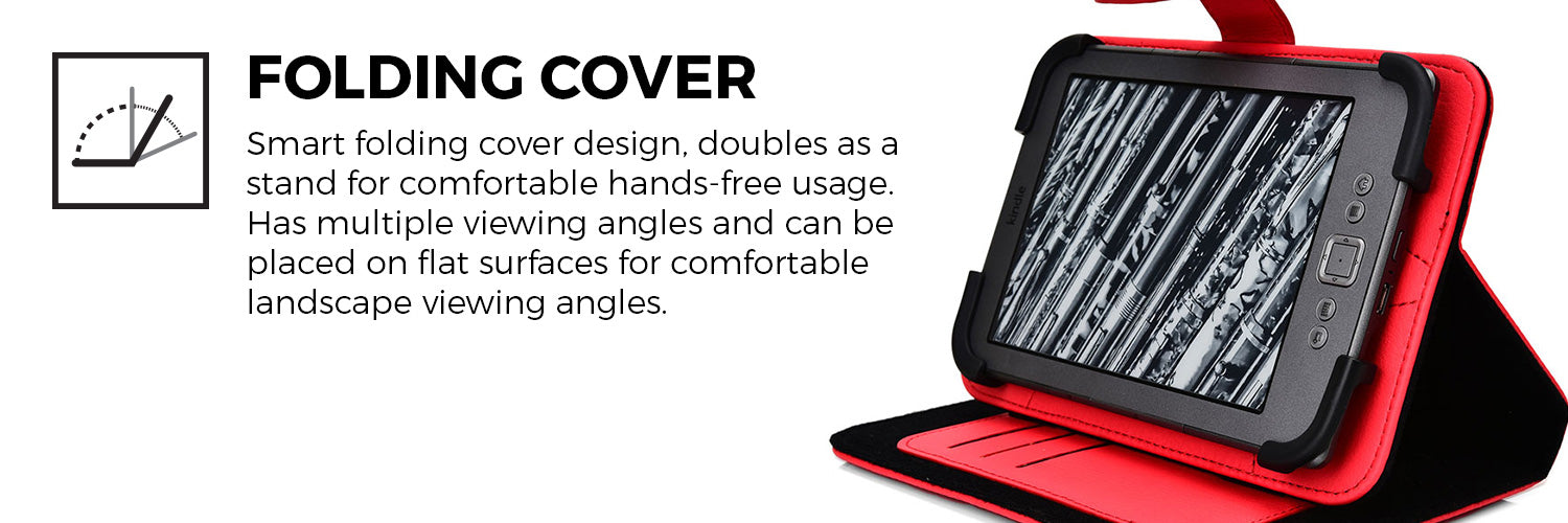 Cooper Embrace Universal 6'' E Book Reader Tablet Folio Case