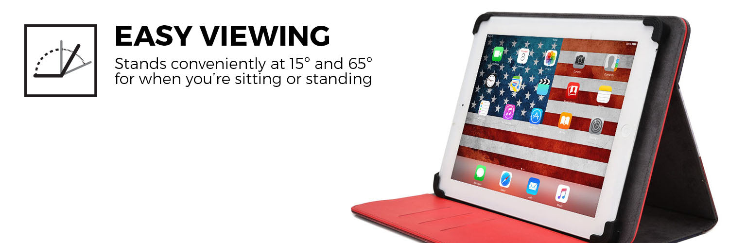 Patriot Universal 360 Rotating Tablet Folio Country Flag Pattern
