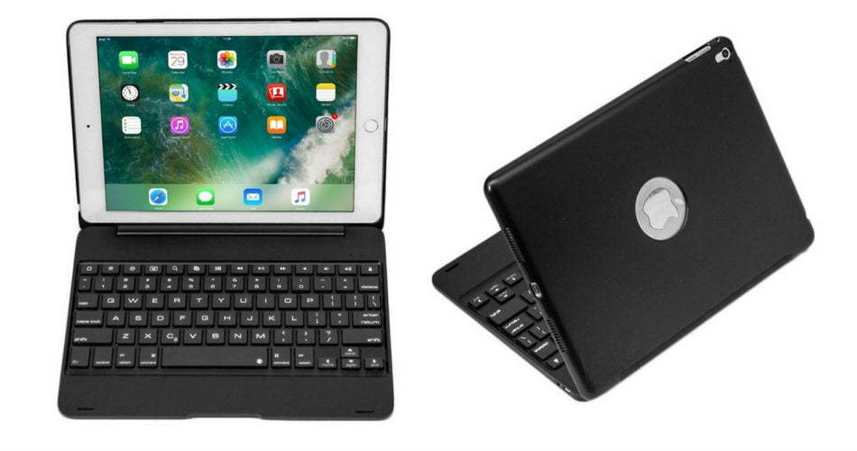 Cooper NoteKee F8S Clamshell Keyboard iPad Case for School