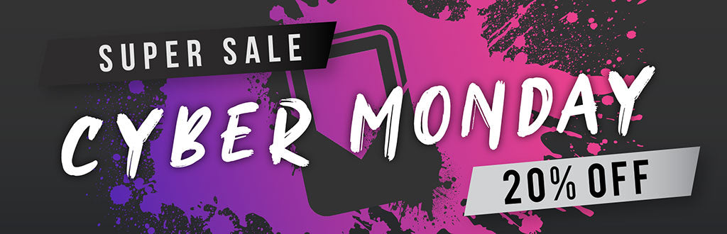 Cyber Monday promotion - 20% off at Tablet2Cases