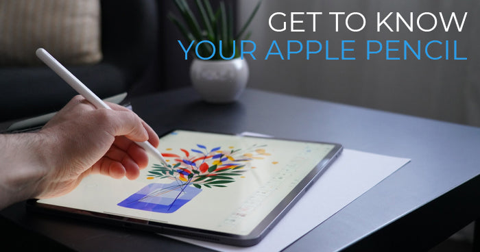 get to know your apple pencil tablet2cases