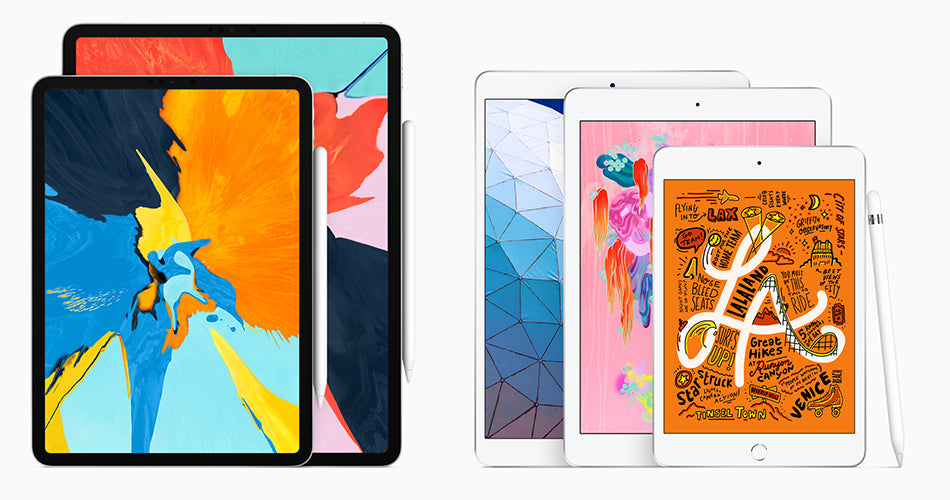 New iPad Air 3rd generation and iPad Mini 5th generation