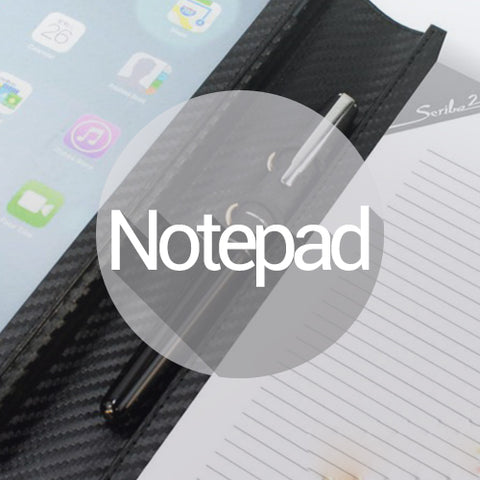 CASES WITH NOTEPAD