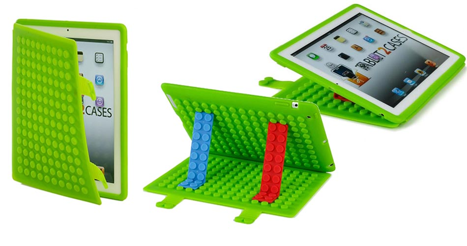 Cooper Blocks Kids Silicon Folio for Apple iPad 2/3/4 & iPad Mini 1/2/3