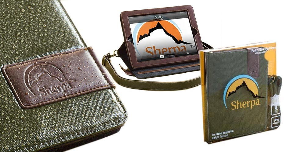 Sherpa Carry Water Folio with Shoulder Strap