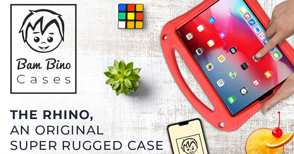 Rhino - super-rugged kids case for Apple iPad