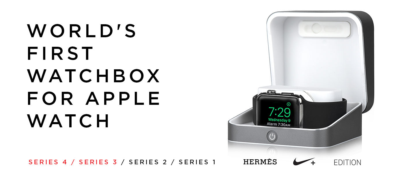 World's first watch box for Apple Watch