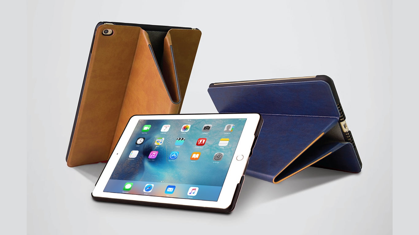 Uniq Trasforma Heritage Folio Case for Apple iPad Pro & iPad Mini 4