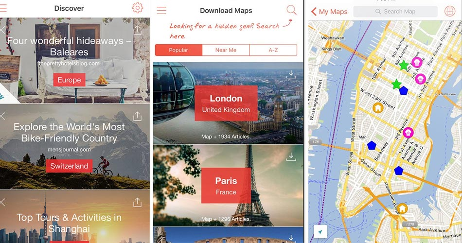 Experience Worry-Free Travel with 3 Map App You Can Use Offline