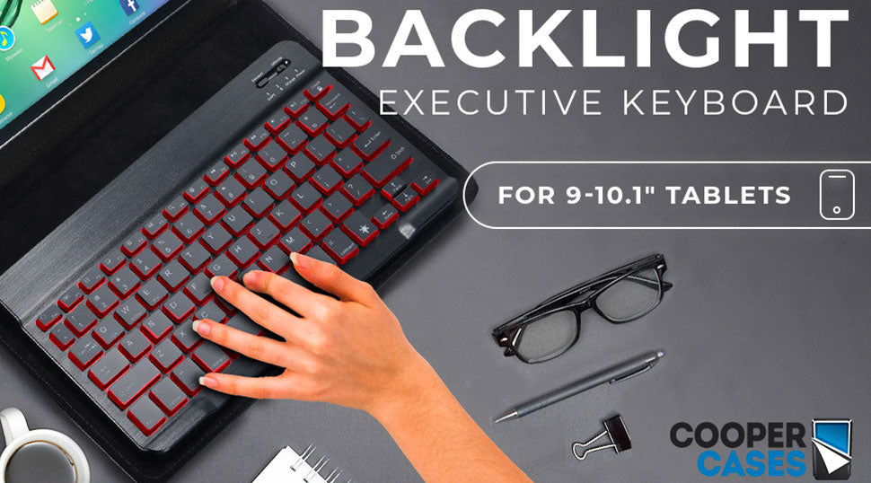 Cooper Backlight Executive keyboard tablet case