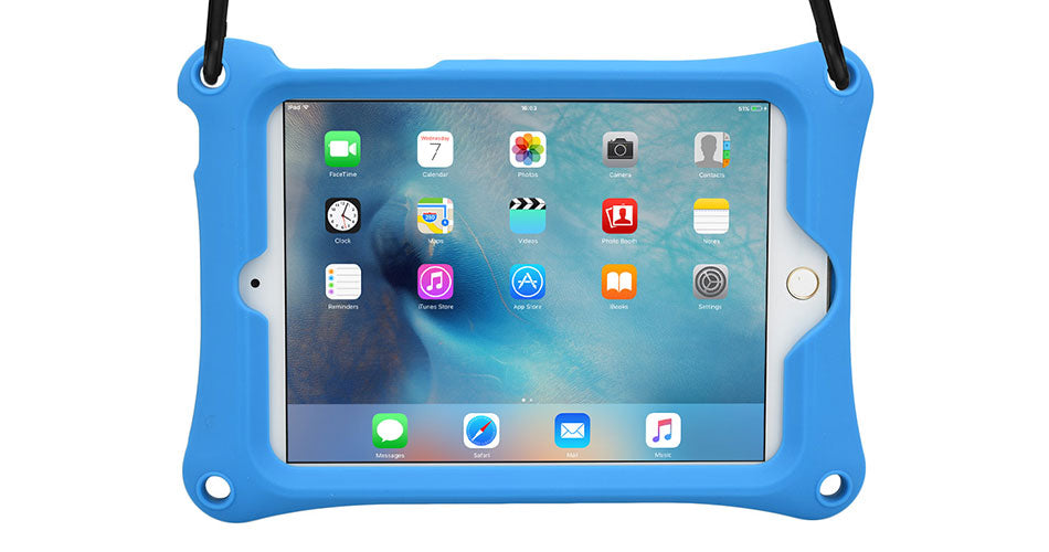 Cooper Bounce Strap rugged drop proof case for iPad mini