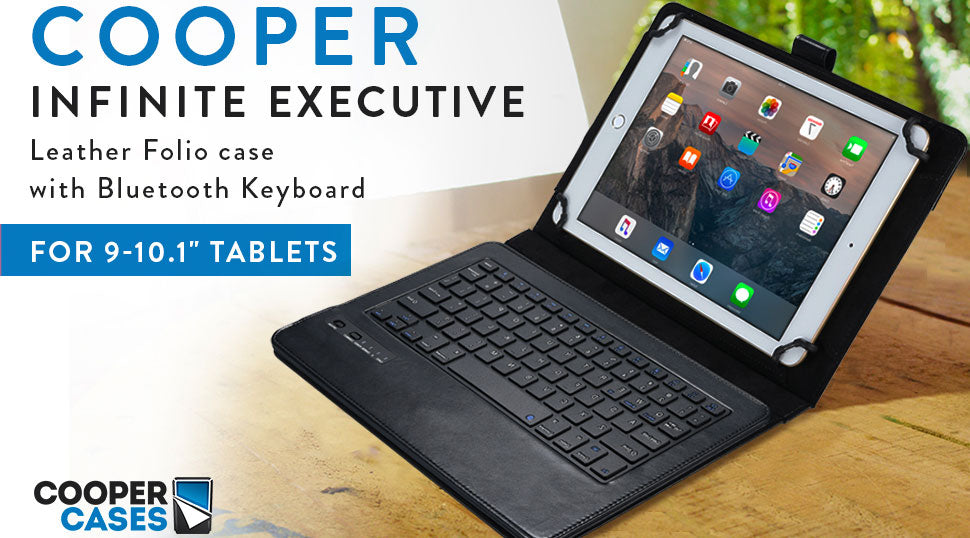 Cooper Infinite Executive keyboard case for tablets