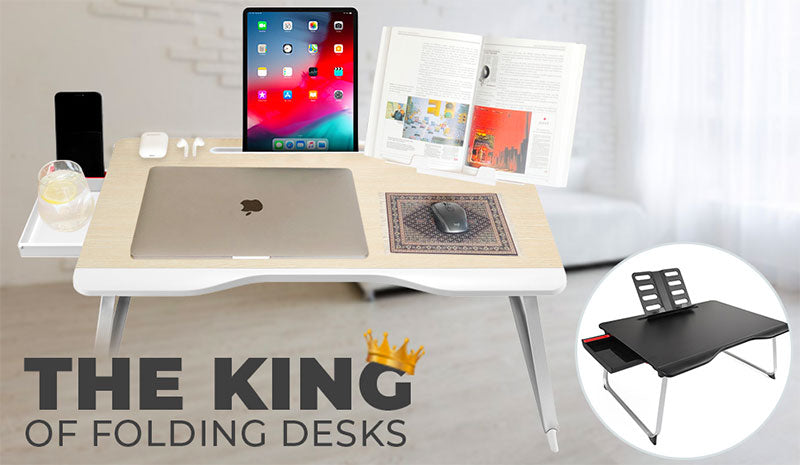 The Cooper Mega Table folding desk for home and office