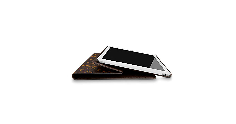 on sale 07ac9 039bf Luxury and Functionality for the iPad Air 2 – Louis Vuitton Flap ...
